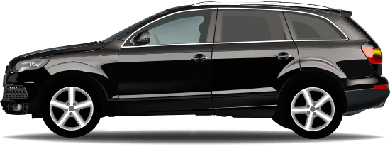 Chauffeured Audi Q7 business class sedan Yarra Valley